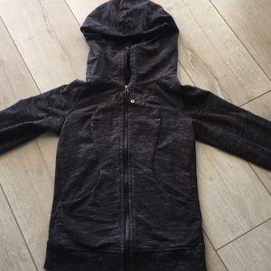 Lululemon heathered charcoal jacket